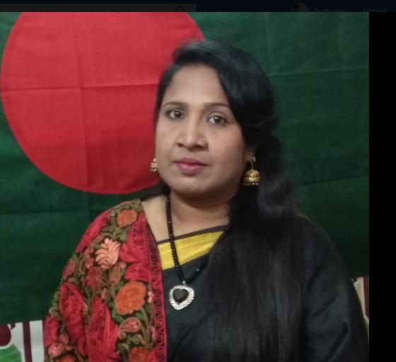 হামিদা পারভিন শম্পা লিখেছেন কবিতা ''একুশে র ঋন