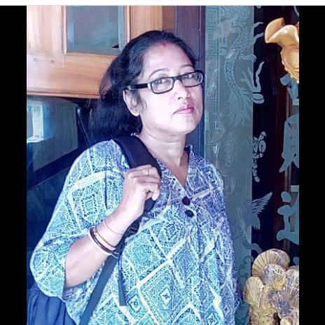 """কবি__সোনালী মন্ডল আইচ এর কবিতা """"মাঘ শেষের আয়না """""""