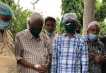 বনানীতে গিয়ে নাসিমকে শ্রদ্ধা জানালেন করোনামুক্ত জাফরুল্লাহ