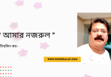 Doinik-Alap-Poem-Kobi-কবি-বিশ্বজিৎ-কর-Kobita-কবিতা-আমার নজরুল